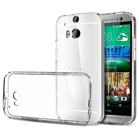 detailed look a94bd 5b077 Amazon.com: Spigen Ultra Fit Designed for HTC One M8 Case (2014 ...