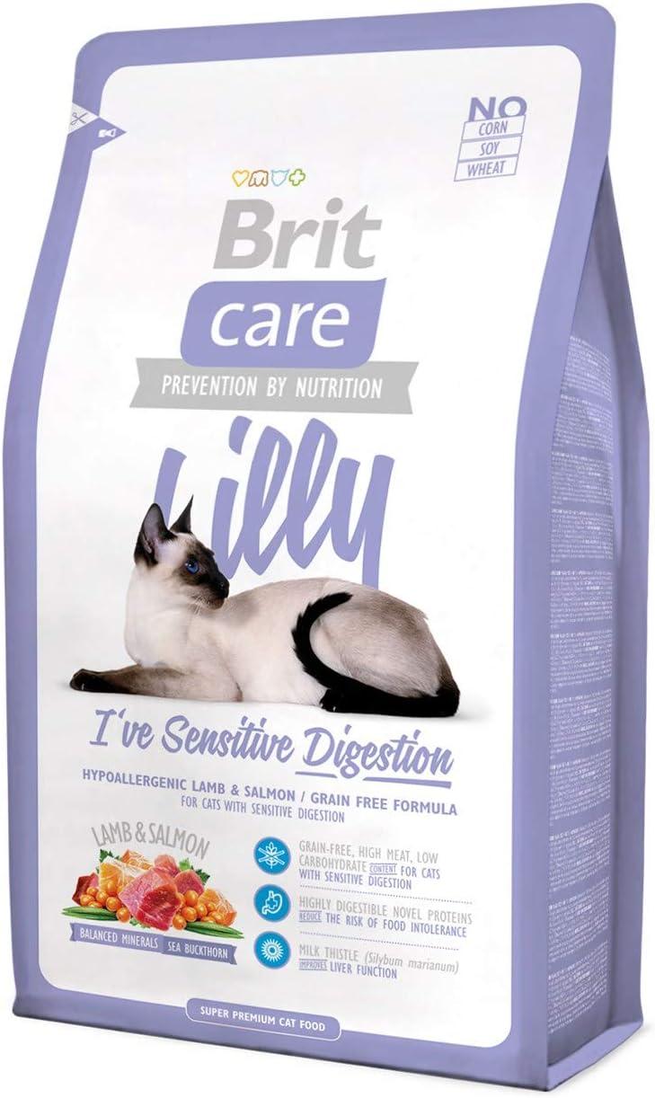 Brit Care Cat Lilly I've Sensitive Digestion Comida para Gatos - 7000 gr