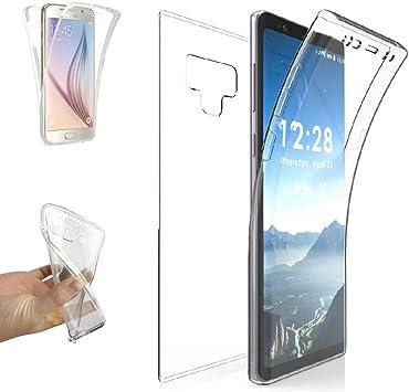 REY - Funda Carcasa Gel Transparente Doble 360º para Samsung ...