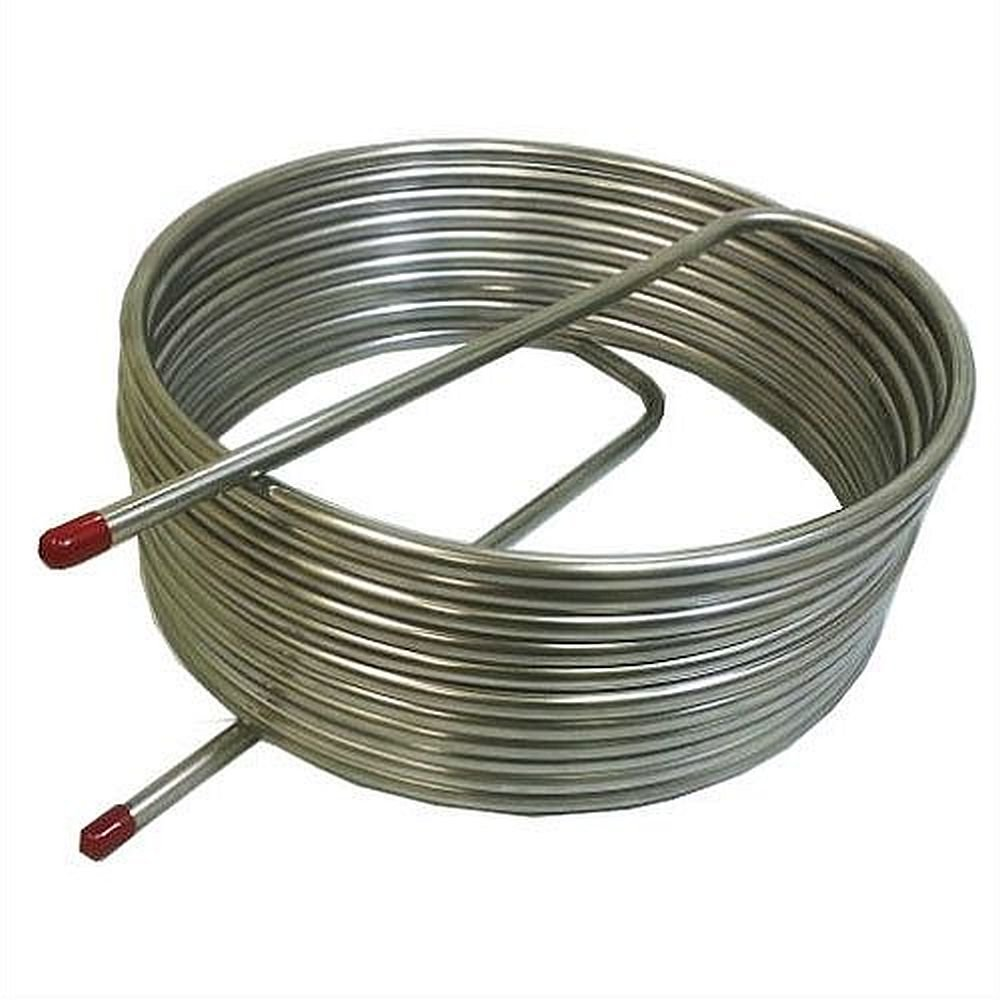 Herms Coil 1/2'' Stainless Steel X 50' Length - 16'' by NY Brew Supply (Image #1)