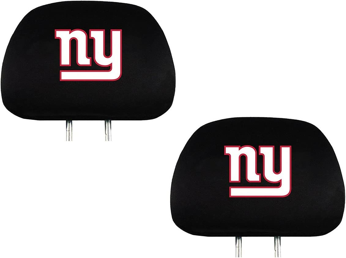 Team ProMark Official National Football League Fan Shop Authentic Headrest Cover (New York Giants)