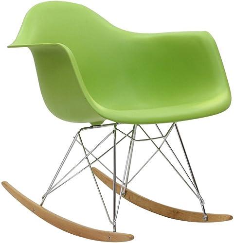 Modway EEI-147-GRN Green Rocker Lounge Chair