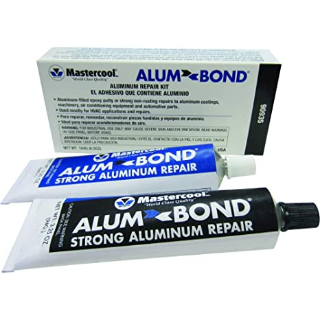 Business & Industrial Sporting Hy-poxy H-450 Alumbond 6.5 Oz Aluminum Putty Repair Kit Excellent Quality Glues, Epoxies & Cements