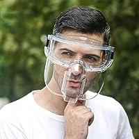 2 en 1 Visera Protectora Facial y Gafas