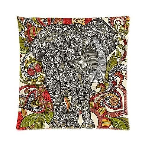 At-Baby Bedding Home Decoration Custom Animas Design Elephant Standard Zip Pillowcase Two Sides 16x16 Inch TT2