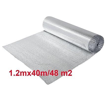 Dorado paquete de rollo de aluminio aislante con burbujas, doble aislamiento – Suelo Loft pared