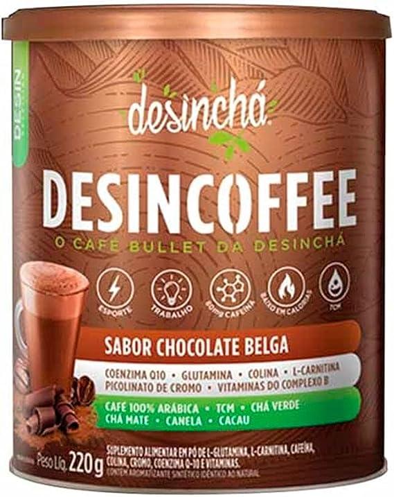 Desincoffee - 220g Chocolate Belga - Desinchá, 10 x 10 x 12: Amazon.com.br: Alimentos e Bebidas