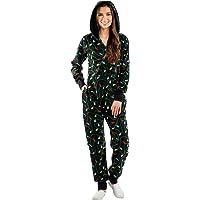 Outdoor broek voor dames, kerstpyjama's, one-piece pyjama's, vinnen, print, hoody, homewear, one-piece broek, sportbroek…