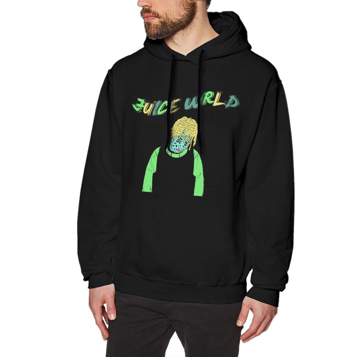 NANCYAA Mens Juice WRLD No Pocket Pullover Fashion Hooded Sweatshirt