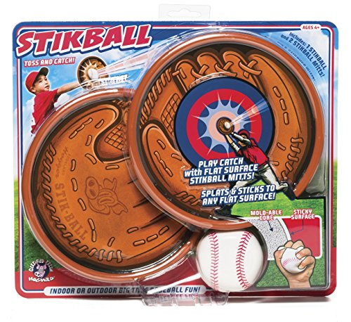 Hog Wild Stickball + Mitts Game (2 Player) by Hog Wild