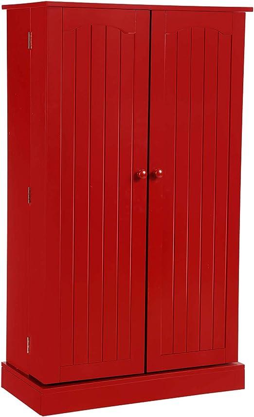 Amazon Com Home Bi Kitchen Pantry Cabinet 5 Door Storage Cabinet