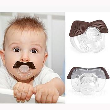 SHYI Chupete de bebé Gel de sílice Estilo lindo 0-36 Meses Gracioso ...
