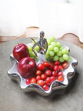 Creatividad bandeja de fruta,Bandeja de fruta Frutas de la mesa de centro Decoración del hogar,Cuenco decorativo-B: Amazon.es: Hogar