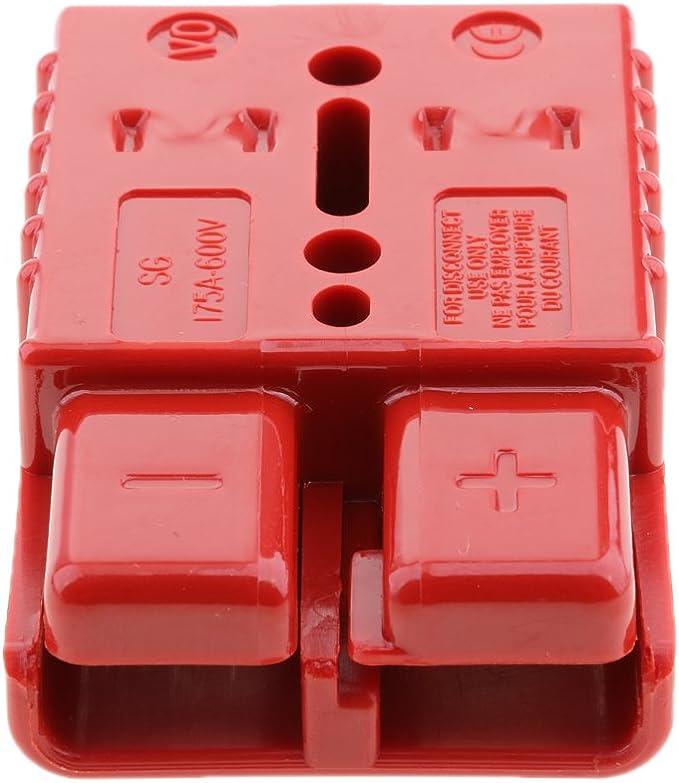 Paio Cavi Elettrici Collegare Spine Per Verricello ATV UTV Quad Rosso 600V 120A