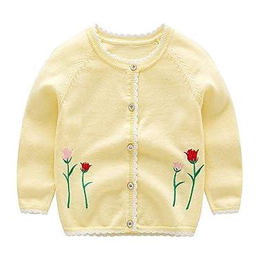 Kewing Suéter de Punto de bebé Chaqueta Unisex Suéter de ...