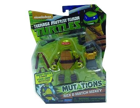 Teenage Mutant Ninja Turtles TMNT - 5573 - Figura de acción de Transformable Animación - Partido Mix N - Bebop - 12 cm