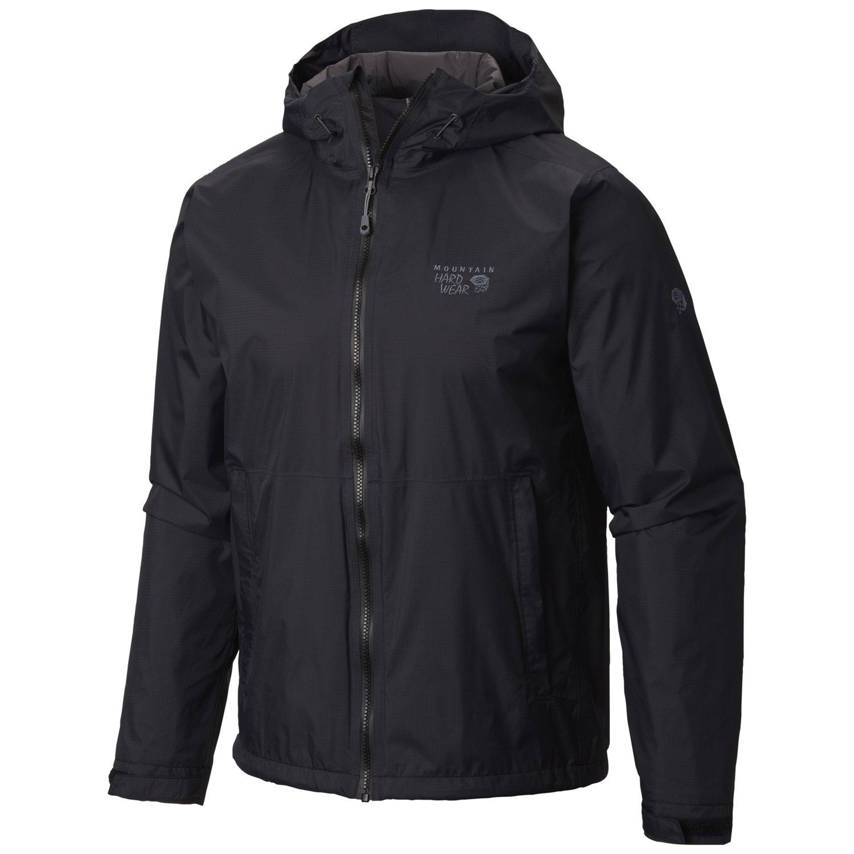 2. Mountain Hardwear Men's Finder Waterproof Rain Jacket