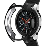 Case Compatible Samsung Galaxy Watch 46mm, NaHai TPU Slim Plated Case Shock-Proof Cover All-Around Protective Bumper…