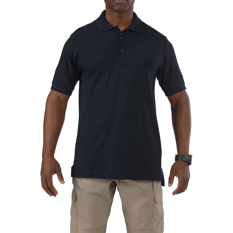 0f81828e7 Pre Shrunk 100 Cotton Tactical Long Sleeve Polo Shirt - DREAMWORKS