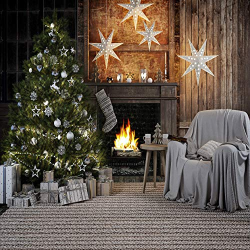 WOLADA 10x10ft Merry Christmas Seamless Photography Backdrops Child