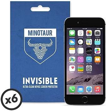 Minotaur Apple iPhone 6/6S Screen Protector Pack: Super Clear (6 Screen Protectors), [Importado de UK]: Amazon.es: Electrónica