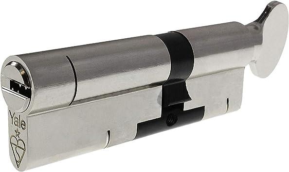 35/35T níquel YALE Superior Mila Hardware – Cerradura con 3 llaves ...