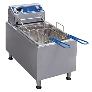 Globe Food Equipment Countertop Electric 10-LB Oil Capacity Fryer