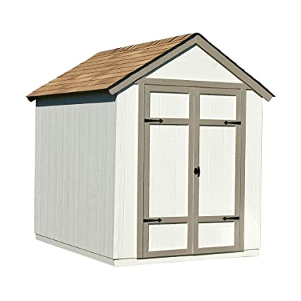 wood shed kit with floor frame home improvement - Garden Shed Kits
