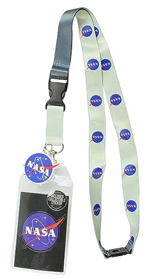 ID de la NASA Cordón Portador Logotipo clásico con encanto ...
