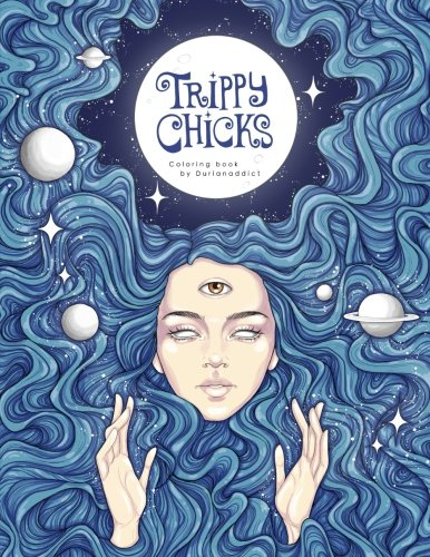 (Trippy Chicks Adult Coloring)
