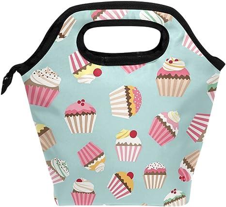 Unicorn Cupcake with Sprinkles Rainbow Grocery Travel Reusable Tote Bag