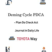 Deming Cycle Pdca - Plan Do Check ACT Journal in Daily Life Toyota Way