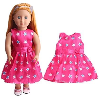 Amazon Com Dress For American Girl Doll Diy Doll Clothes Dress
