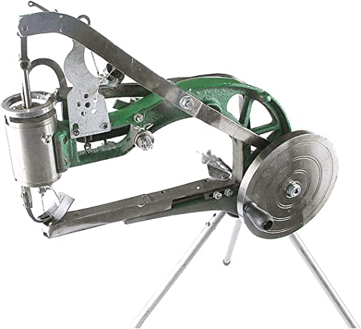 Niceen - Máquina de coser para calzado manual (reparación de piel ...