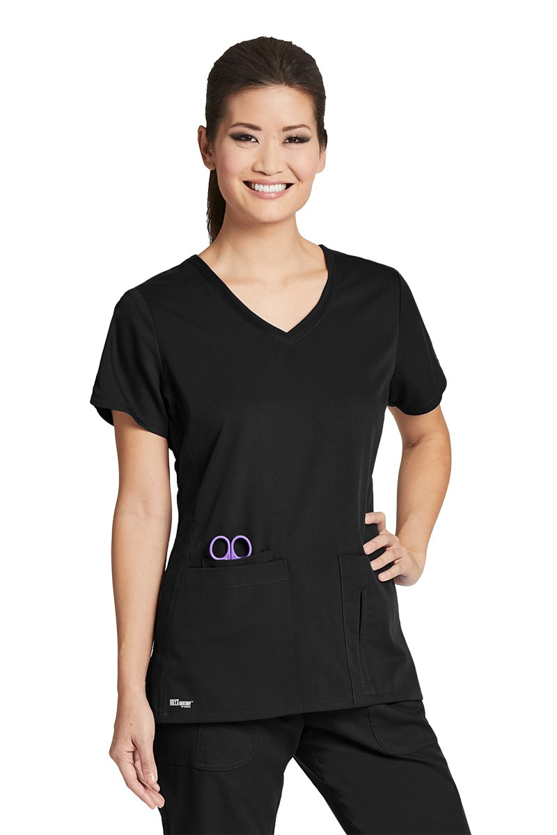 Grey's Anatomy Active 41423 Top Black S