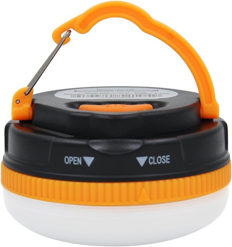 Battery Powered LED Camping Lantern, 5 Work Modes 100 , 50 , 30 , Strobe Flash, SOS LED Camping Light w Hook, Magnet for Tent, Hiking, Fishing, Traveling, Adventures, Emergency Night Lighting