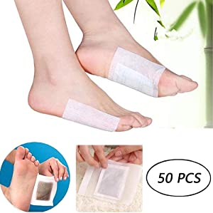 Foot Pads - FDA Foot Care - 50 Adhesive Sheets and 50 Foot Pads