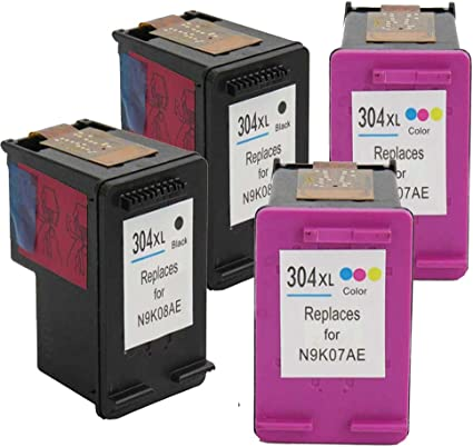 Hp 304 Win Inks Compatible Ink Cartridges Xl For Hp Deskjet 3700 3720 3730 Printer Amazon De Bürobedarf Schreibwaren