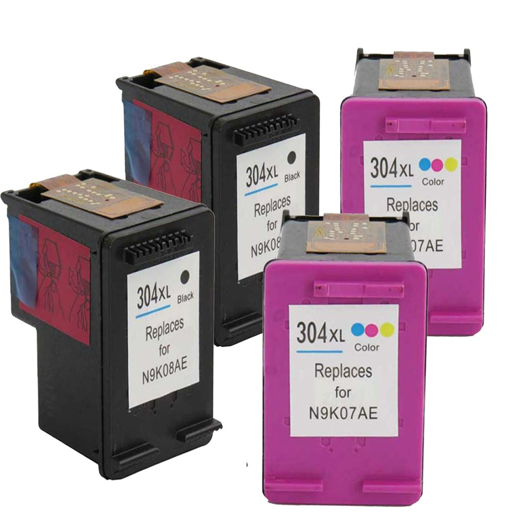 Win de tintas Compatible Cartuchos de Tinta HP 304 XL para ...