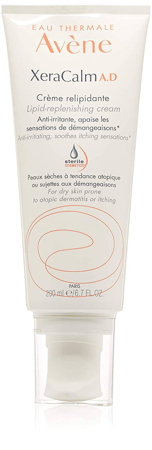 Eau Thermale Avène XeraCalm A.D Lipid-Replenishing Cream, Fragrance-Free, 6.7 Oz