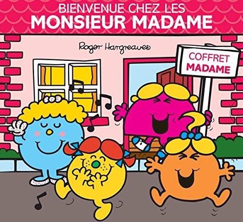 Bienvenue chez les Monsieur Madame : Coffret Madame 4 volumes : Mme Chipie ; Mme Bavarde ; Mme Coquette ; Mme Pourquoi