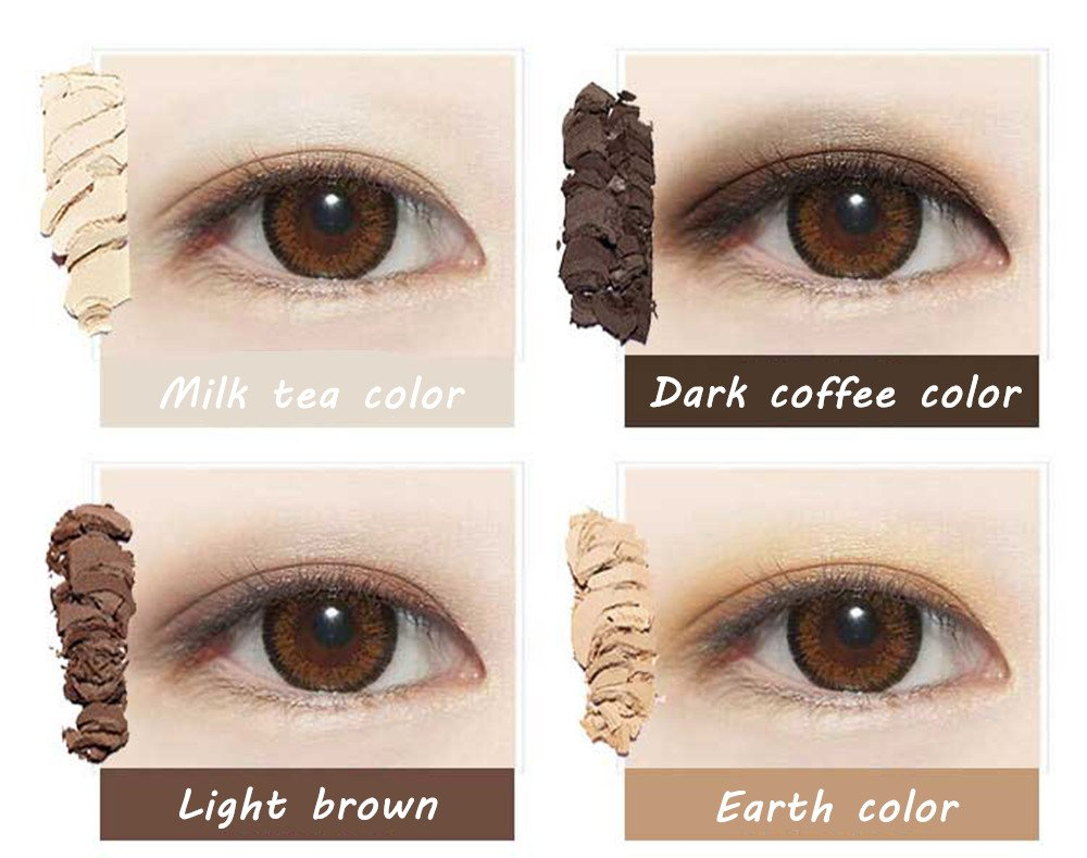 Amazon.com : Eyeshadow Palette Makeup - Matte + Shimmer 10 Colors - Highly Pigmented - Professional Nudes Warm Natural Bronze Neutral Smoky Cosmetic Eye ...