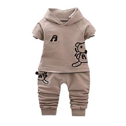 chshe Baby Boy 3pc trajes recién nacido infantil con forma ...