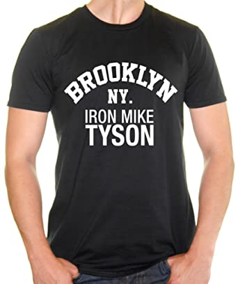 326634e21 Iron Mike Tyson Brooklyn NY.Mens T-Shirt  Amazon.co.uk  Clothing
