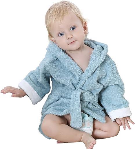 DINGANG® Bebé Albornoz con capucha | Super suave y absorbente ...