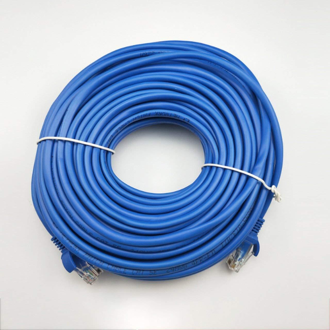 50M CAT5 CAT5E Ethernet Internet RJ45 LAN Cable Cable Cable Male Connector Reticle 100FT 5//10//15//20//25//30