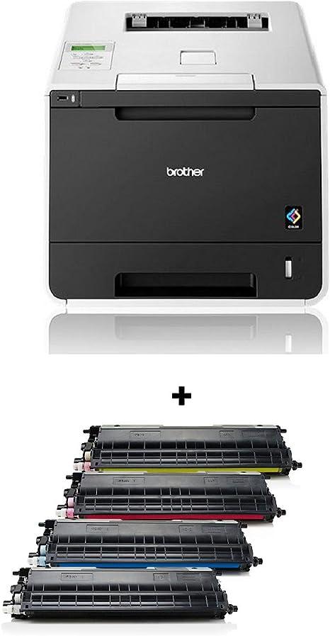 Brother: Impresora láser Color HL-L8250CDN. Incluye Juego de tóner ...