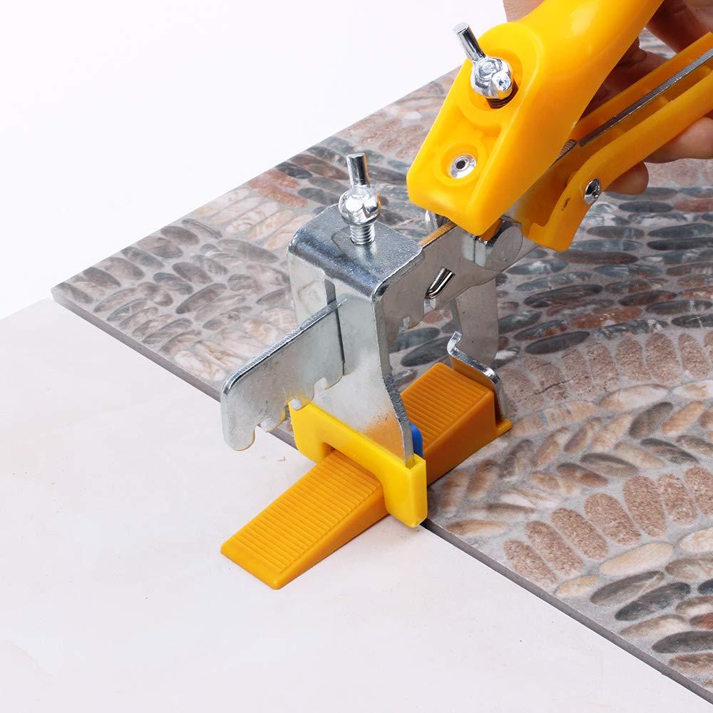 Fireangels carrelage Outil dinstallation Localisateur Syst/ème de nivellement pour carrelage de sol Pince /à main lev/ée Taille pour vos Clips cales