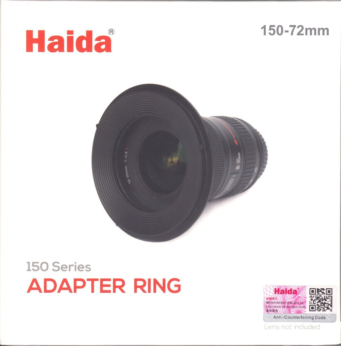 Haida 72mm Metal Adapter ring for 150 Series Filter Holder by Haida