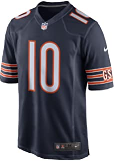 huge selection of cc997 7f201 Amazon.com : Nike Men's #10 Chicago Bears Mitchell Trubisky ...